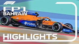 FP1 Highlights | 2021 Bahrain Grand Prix