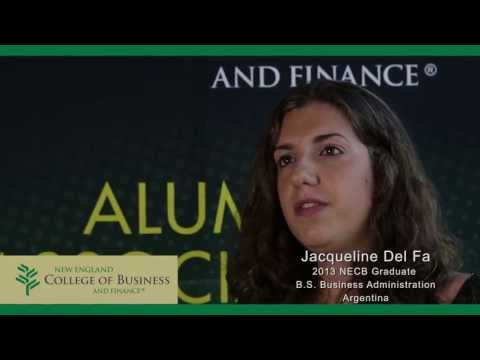 New England College of Business and Finance (NECB) Student Testimonials