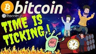 ⏲BITCOIN TIME IS TICKING⏲bitcoin litecoin price prediction, analysis, news, trading