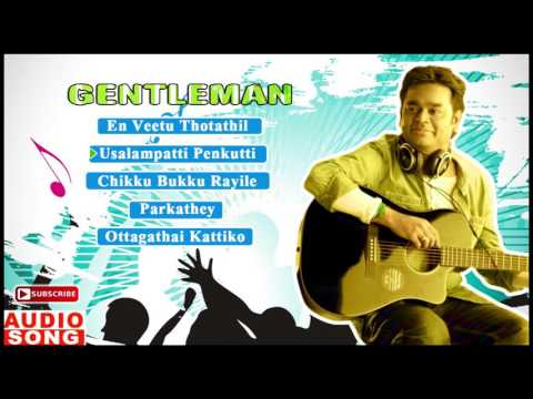 Gentleman Tamil Movie | Audio Jukebox | Arjun | Madhoo | AR Rahman | Vairamuthu | Vaali