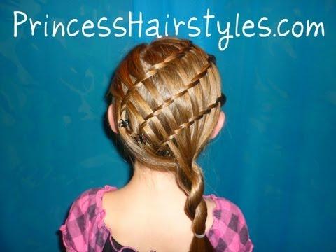 Triple Twisty Waterfall Braid Hairstyle thumbnail