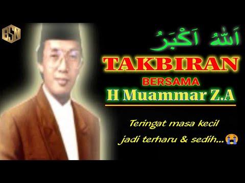 TAKBIRAN Bersama H.Muammar Za (80-90an)
