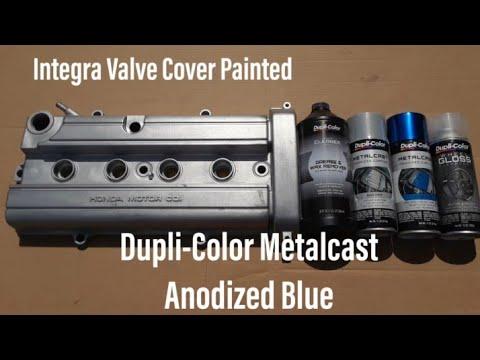 Download Integra Valve Cover Painted Dupli-Color Metalcast Blue