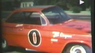 1962 NASCAR - Dave MacDonald in NASCAR 100 Miler at Sacramento