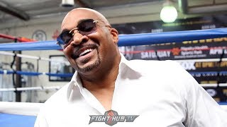 LEONARD ELLERBE LAUGHS AT BOB ARUM, SAYING HE WILL CALL AL HAYMON FOR SPENCE CRAWFORD FIGHT