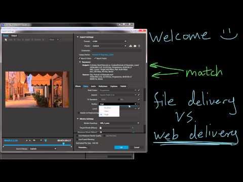 Understanding Export Settings - Video Tutorial