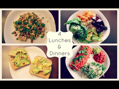 4 Lunches & 4 Dinners