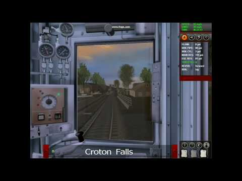 METRO-NORTH IN TRAINZ CLASSICS: 6:15 AM HARLEM LINE TRAIN TO BRONXVILLE PART 1