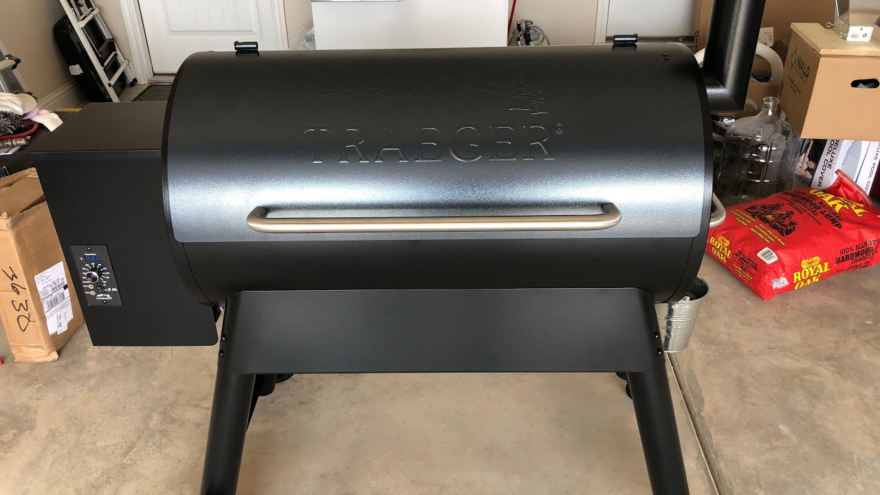 Curing the Traeger Pro Series 34 Pellet Smoker