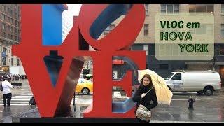 Vlog em Nova York: Tour pelo hotel, Chinatown e Broadway