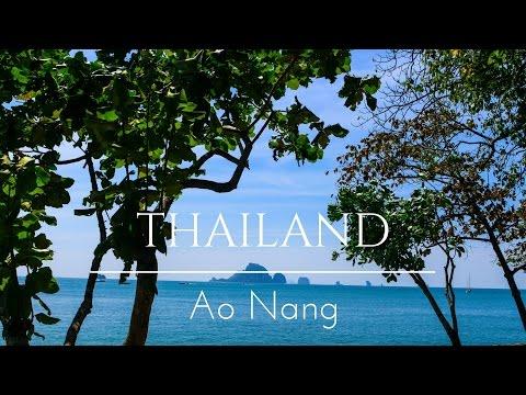 Ao Nang Krabi, Thailand - Exploring Ao nang Beach | Vlog 1