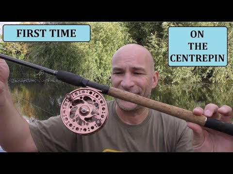Fishing With A Centrepin - My First Experience - Warwickshire Avon - 25/8/18 (Video 82)