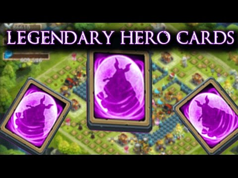 Castle Clash: Opening 17 Legendary Hero Cards