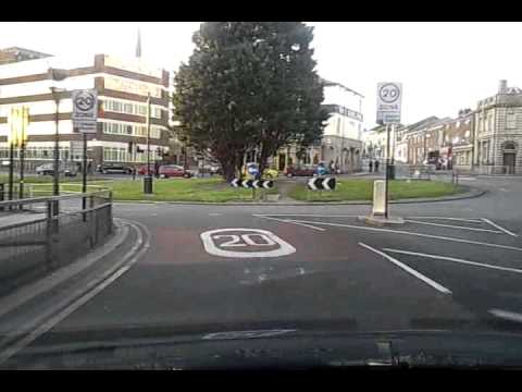 Preston city -Lancashire-  by car