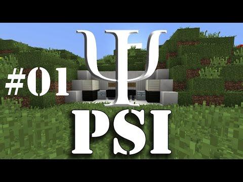 [Обзор][1.8.9] PSI - алго-магия - часть 1 - S4-EP1