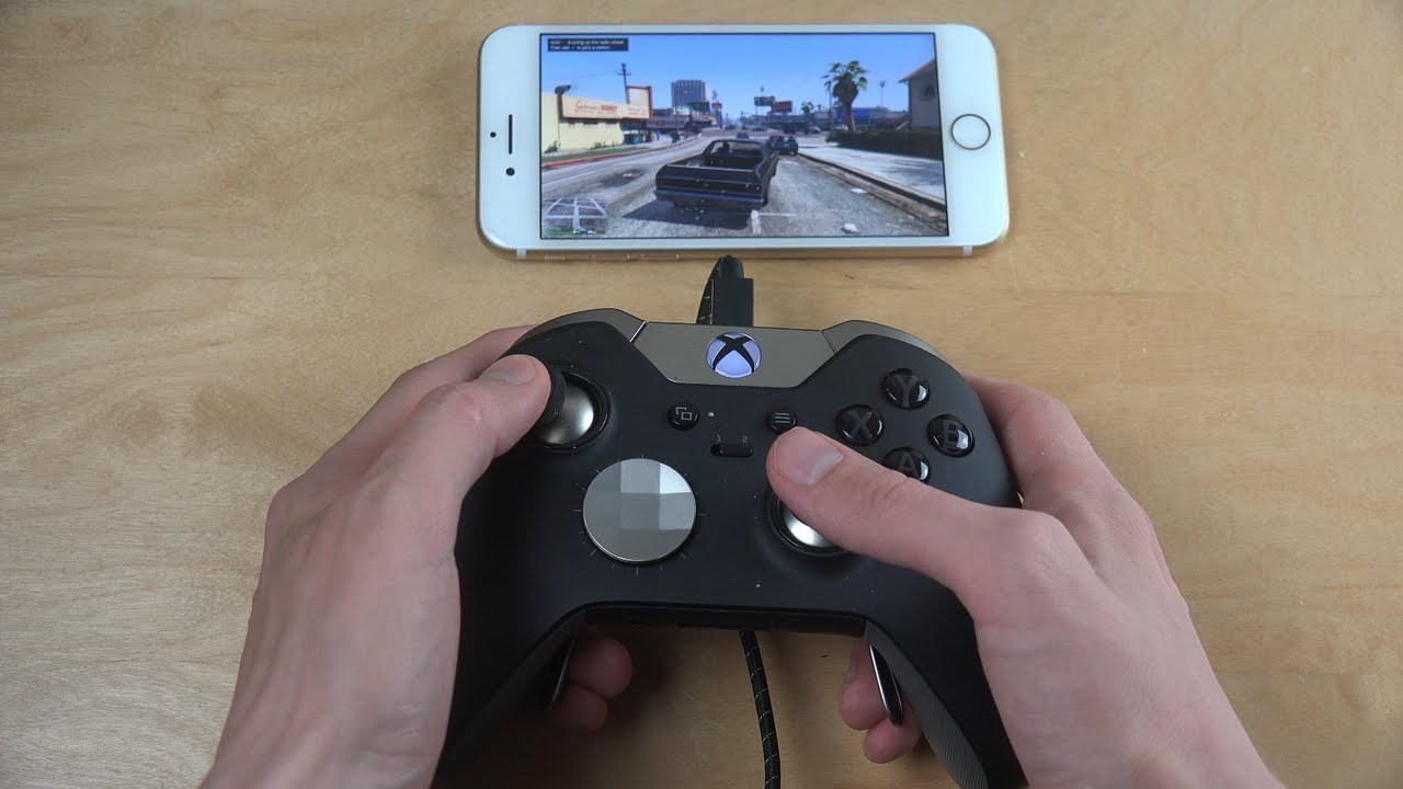 low priced a6d00 a1809 GTA 5 iPhone 7 NVIDIA GameStream Xbox Elite Gamepad Moonlight Gameplay  Review!