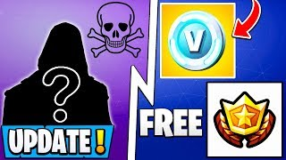 Mise à jour Fortnite ' ' ' ' ' ' ' ' ' ' ' ' ' ' ' ' ' ' ' ' ' Free Battle Pass - Vbucks Reward, 8.40 Early, Secret Skin!