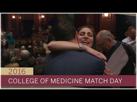 2016 Match Day for FSU's College Of Medicine