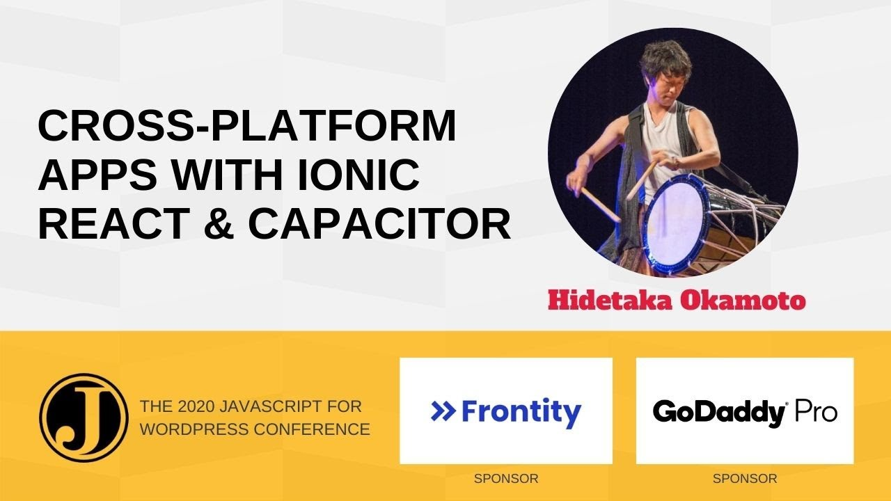 Make a Cross-platform App with Ionic React with Capacitor Hidetaka Okamoto