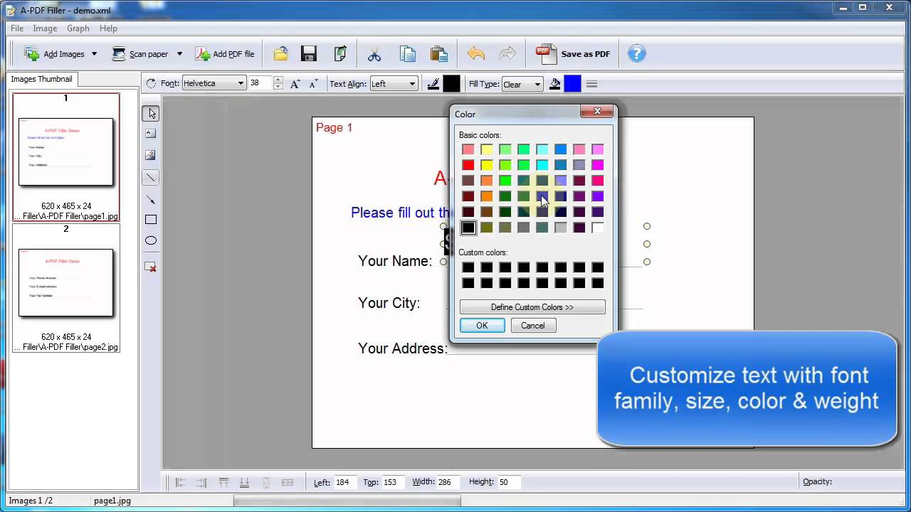 Pdf Form Filler Freeware