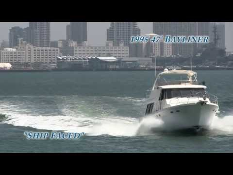 """47 Bayliner """"Ship Faced"""" offered by CA Yacht Sales Int'l"""