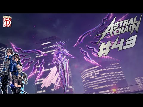 Konfrontation mit Jena Anderson ⛓️ Let's Play Astral Chain #43 ⛓️ Deutsch/Gameplay/Facecam/Switch