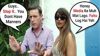 Ileana D'cruz Husband Andrew Kneebone Angry On Media While Taking Photos