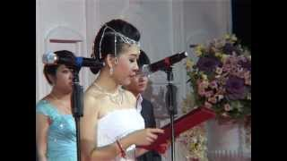 Big Wedding in Cambodia ,Sam dach daed Jo HUn sen dance