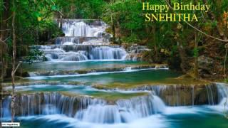Snehitha   Nature Birthday