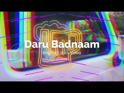 daru-badnaam-english-lyrics