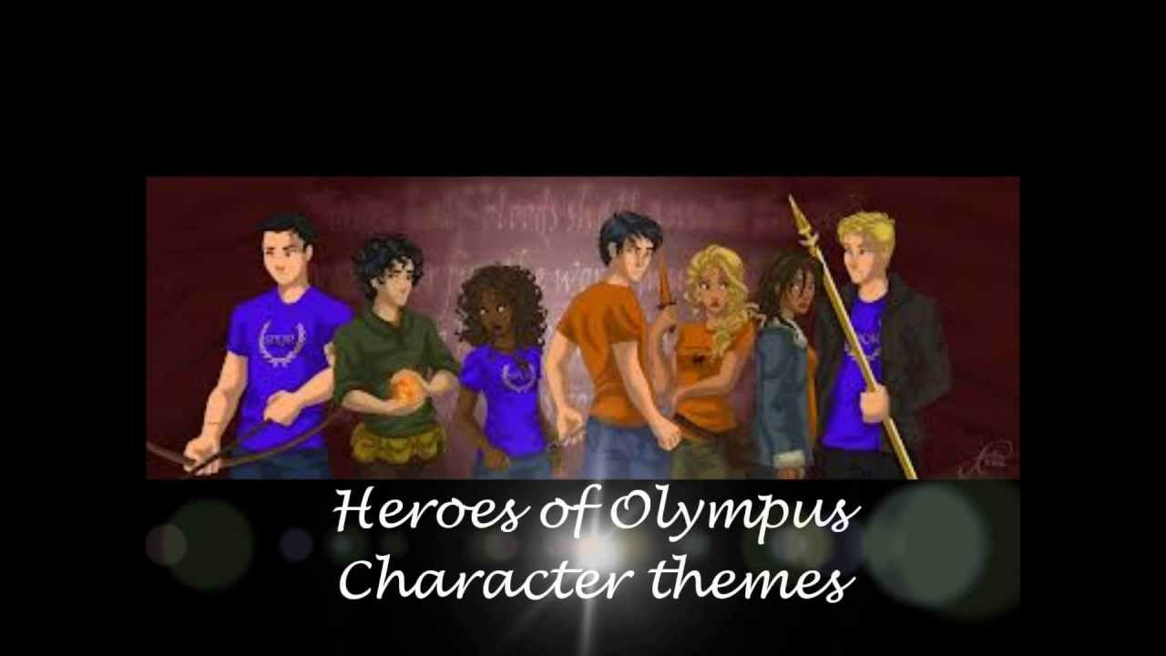Heroes of Olympus Character Themes - YouTube