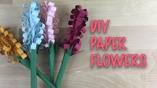 [Paper Craft Tutorial] Simple, Fun, and Easy DIY Paper Flower Craft