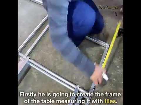 DIY Scissor lift table