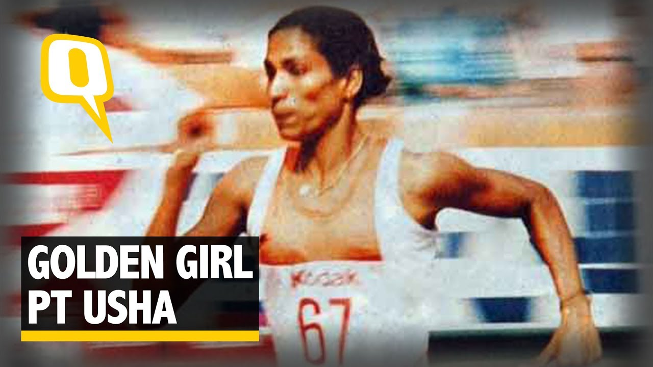 pt usha P t usha - p t usha was one of india's best-known women athletes she remained the queen of track and field for almost two decades pt usha was fondly called the payyoli express and the golden girl because of her awesome speed on the track.