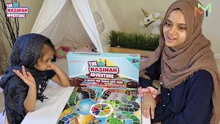 💕😍A great Collaboration between Maryam, Fatima and the Nasihah Adventure Board Game