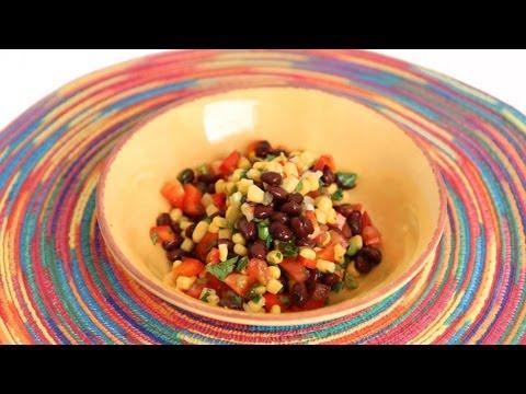 Black Bean Salsa Recipe - Laura Vitale - Laura In The Kitchen Episode 569