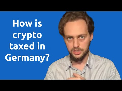 Crypto Taxation In Germany Explained By Ex-tax Office Worker - BerChain Member Webinar With Pekuna