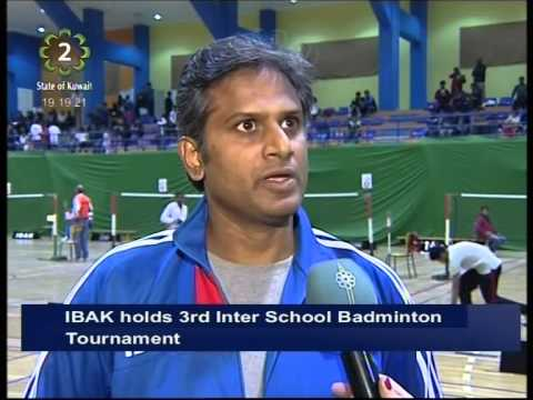 The Indian Badminton Association of Kuwait holds 3rd Inter School Badminton Tournament