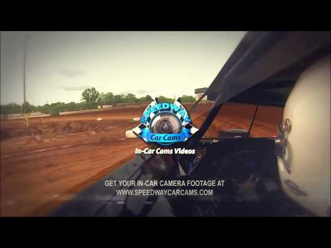 #47 Levi Campbell - Sportsman - 8-12-17 Senoia Raceway - In Car Camera