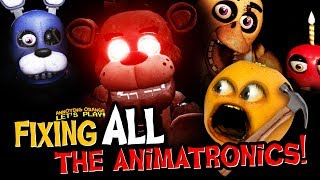 Fixing ALL the Animatronics in FNAF VR!!! (Supercut)