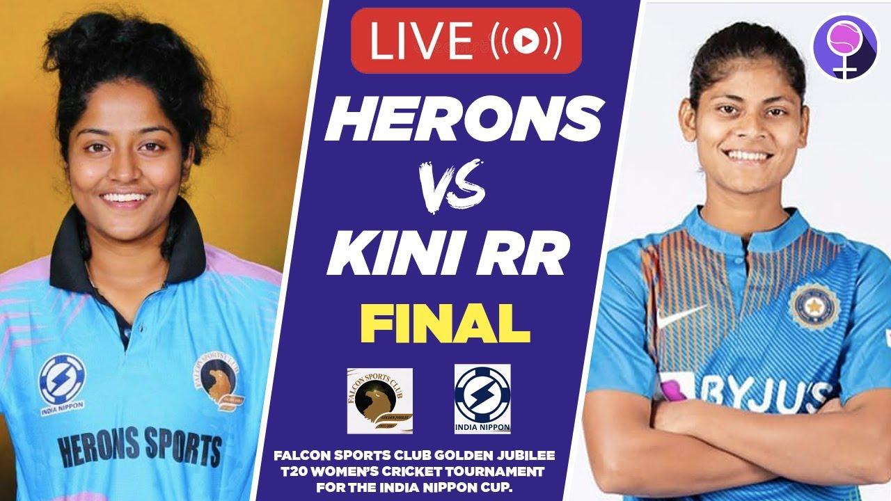 LIVE: FINALS - Herons vs Kini RR - Falcon Sports Club Golden Jubilee Tournament | India Nippon Cup