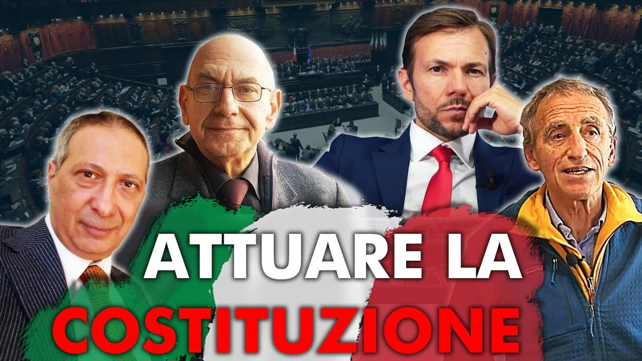 Programma di governo per attuare la Costituzione -  Intervista a M. Scardovelli, M. Farina, R. Fiore