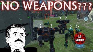 War Robots - Pantheon And Dragon Robots Without Weapons - Skirmish
