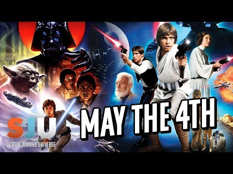 Celebrating Star Wars: May The 4th Be With You! - SJU