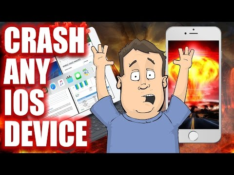 How To Remotely Crash Any Iphone Ipad Or Other Apple Ios Powered Device With This Simple