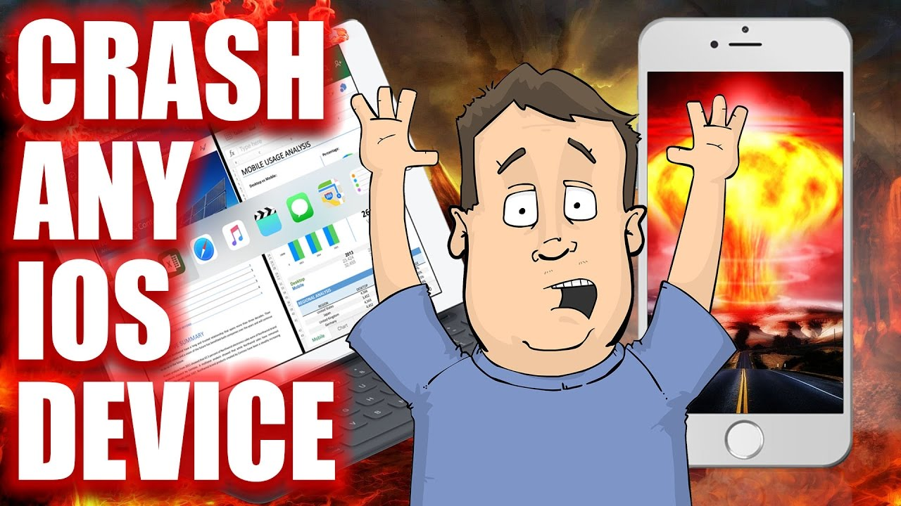 How to remotely crash or hack any iOS based device  iPhone, iPad & Apple  Watch