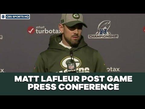 Matt LaFleur Post Game Press Conference: NFC Championship  CBS Sports HQ