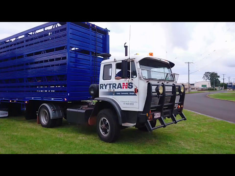 Yard Truck - The old Acco pulling a set