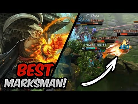 Playing The BEST Marksman In Ranked! - Vainglory Ringo Gameplay