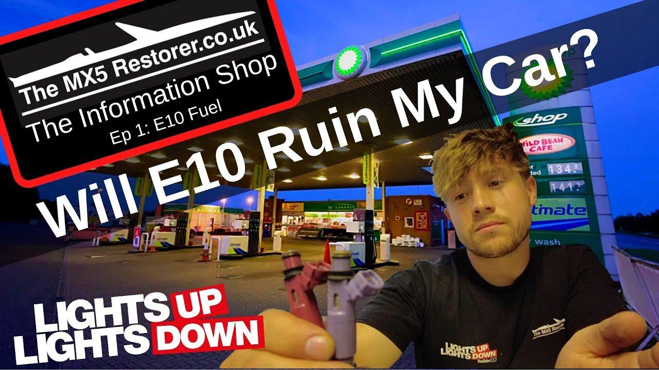 Download E10 fuel, will it ruin my car?!!